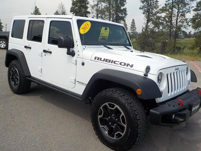 Pre-Owned 2015 Jeep Wrangler Unlimited Rubicon
